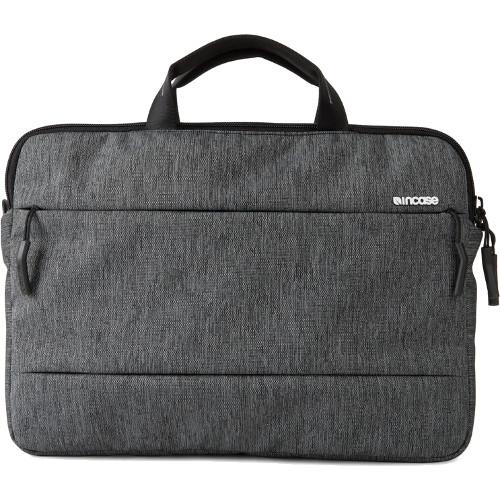 Сумка Incase City для MacBook 15Сумки для ноутбуков<br>Сумка Incase City для ноутбука 15 темно-серый<br><br>Цвет: Серый<br>Материал: Текстиль
