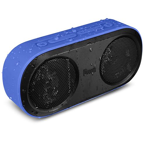 Влагозащищенная акустическая система Divoom Airbeat-20 синяяКолонки и акустика<br>Акустическая система Divoom AirBeat-20 синяя<br><br>Цвет товара: Синий<br>Материал: Пластик, силикон, металл