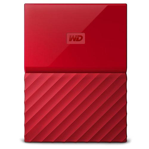 Внешний жесткий диск Western Digital My Passport New 2017 1Тб красныйВнешние накопители<br>Western Digital My Passport помещается в ладони и вы сможете взять все ваши файлы, куда бы вы ни отправились.<br><br>Цвет товара: Красный<br>Материал: Пластик, металл<br>Модификация: 1 Тб