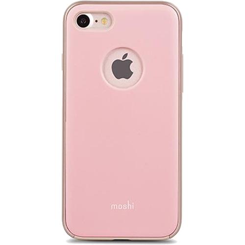 Чехол Moshi iGlaze для iPhone 7 (Айфон 7) розовыйЧехлы для iPhone 7/7 Plus<br>Минимализм и максимальная защита объединились в одном аксессуаре для Айфон 7, чехле Moshi iGlaze.<br><br>Цвет товара: Розовый<br>Материал: Поликарбонат, полиуретан