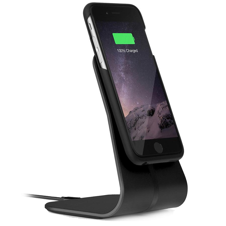 Комплект XVIDA Wireless Charging Office Kit (настольное зарядное устройство + чехол) для iPhone 7 чёрныйДокстанции/подставки<br>XVIDA Wireless Charging Office Kit – набор для беспроводной зарядки iPhone 7.<br><br>Цвет товара: Чёрный<br>Материал: Металл, пластик