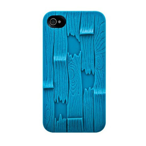 Чехол SwitchEasy Avant-garde Plank для iPhone 4/4S Голубой