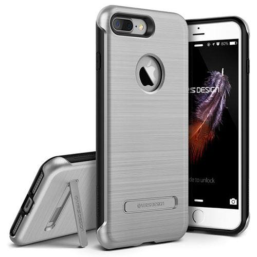Чехол Verus Duo Guard для iPhone 7 Plus (Айфон 7 Плюс) серебристый (VRIP7P-DGDSS)Чехлы для iPhone 7 Plus<br>Чехол Verus для iPhone 7 Plus Duo Guard, серебристый (904650)<br><br>Цвет товара: Серебристый<br>Материал: Полкикарбонат, полиуретан