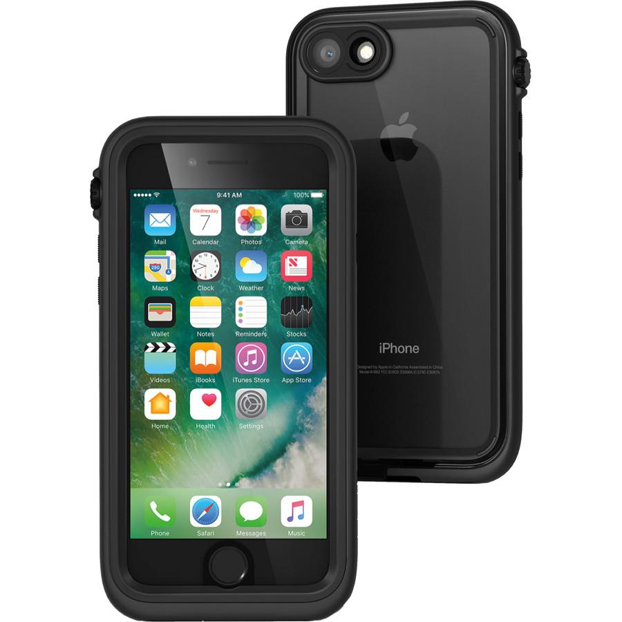 Чехол Catalyst Waterproof Case для iPhone 7/8  чёрныйЧехлы для iPhone 7<br>Два прочнейший материала объединились в Catalyst Waterproof, чтобы предложить вашему iPhone самую лучшую в мире защиту!<br><br>Цвет товара: Чёрный<br>Материал: Поликарбонат, полиуретан