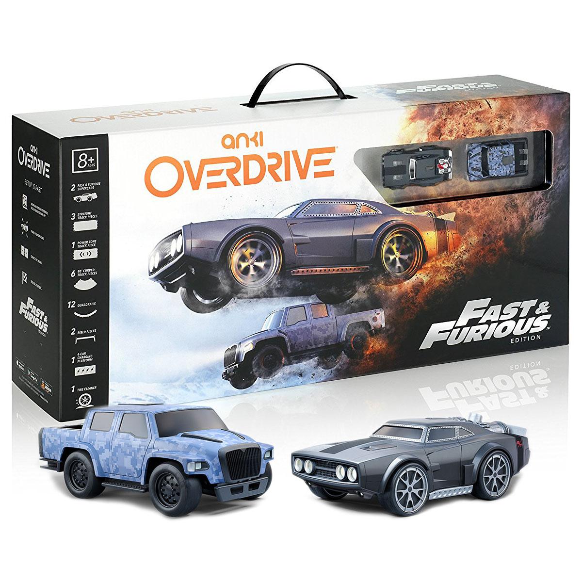 Anki Overdrive Fast &amp; Furious Edition - гоночная трасса с машинкамиГоночная трасса Anki Drive<br>Anki Overdrive — это сама настоящая видео-игра, которая перенесена в реальный мир!<br><br>Цвет: Разноцветный<br>Материал: Пластик, металл