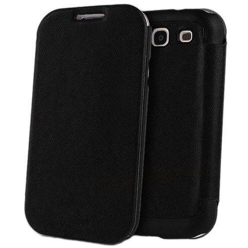 Чехол Mercury Fancy Diary FlipStyle для Samsung Galaxy S3 ЧерныйЧехлы для Samsung Galaxy<br>С Mercury Fancy Diary FlipStyle вашему смартфону не страшны неприятности!<br><br>Цвет: Чёрный<br>Материал: Пластик, кожа