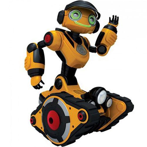 Интерактивный робот WowWee Roborover (8515)Роботы<br>WowWee Roborover — интерактивный робот-исследователь, который станет для вас настоящим другом!<br><br>Цвет товара: Жёлтый<br>Материал: Пластик, металл