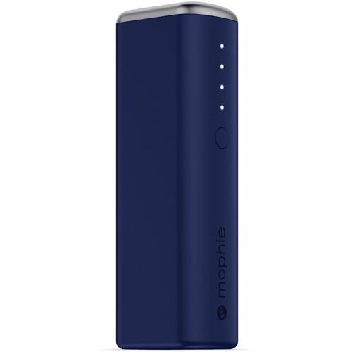 Портативный аккумулятор Mophie Power Reserve 1X 2600 мАч синийВнешние аккумуляторы<br>Портативный аккумулятор Mophie Power Reserve 1X  2600 мач- синий<br><br>Цвет товара: Синий<br>Материал: Металл, пластик