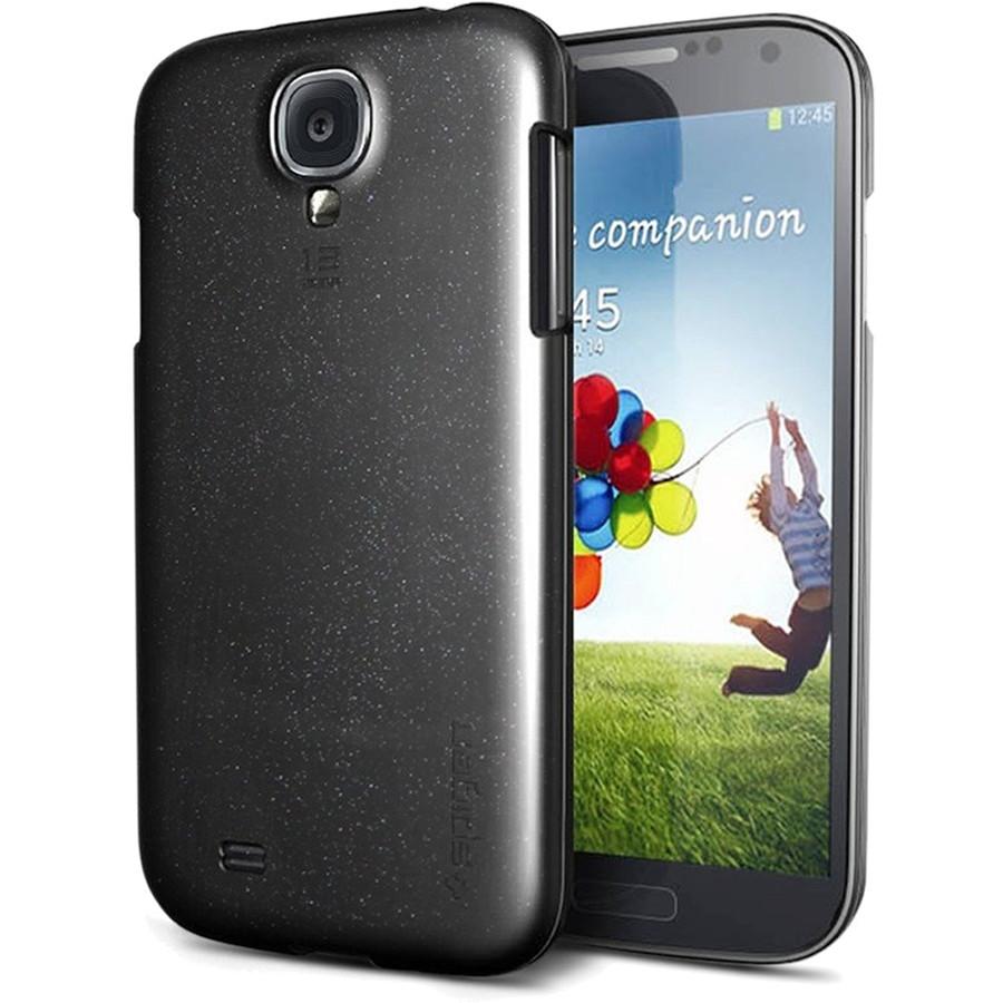 Чехол Spigen Ultra Capsule для Samsung Galaxy S4 чёрный (SGP10220)Чехлы для Samsung Galaxy S4<br>Лёгкий и прочный<br><br>Цвет: Чёрный<br>Материал: Термопластичный полиуретан