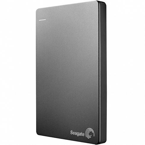 Внешний жесткий диск Seagate Original Backup Plus Slim 1 Тб (STDR1000201) серебристыйВнешние накопители<br>Seagate Original Backup Plus Slim сохранит любую цифровую информацию.<br><br>Цвет товара: Серебристый<br>Материал: Пластик<br>Модификация: 1 Тб