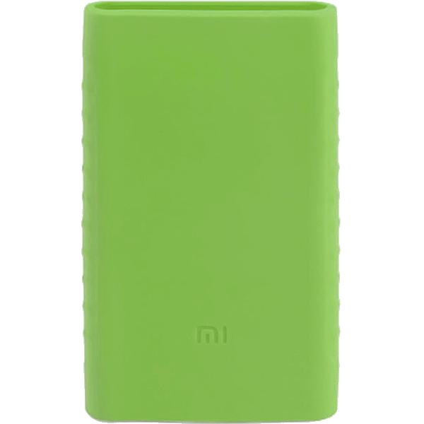 Силиконовый чехол Xiaomi Silicone Protector Sleeve для аккумулятора Mi Power Bank 2 (10000 мАч) зелёныйДополнительные и внешние аккумуляторы<br>Силиконовый чехол Xiaomi Silicone Protector Sleeve — защита и украшение для вашего аккумулятора Mi Power Bank 2 (10000 мАч).<br><br>Цвет товара: Зелёный<br>Материал: Силикон