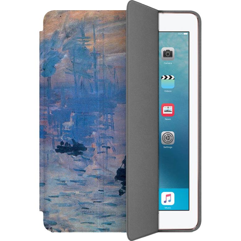 Чехол Muse Smart Case для iPad Pro (10.5) Восход СолнцаЧехлы для iPad Pro 10.5<br>Чехлы Muse Smart Case — это индивидуальность, насыщенность красок, оригинальные принты и надёжная защита от повреждений.<br><br>Цвет: Синий<br>Материал: Поликарбонат, полиуретановая кожа