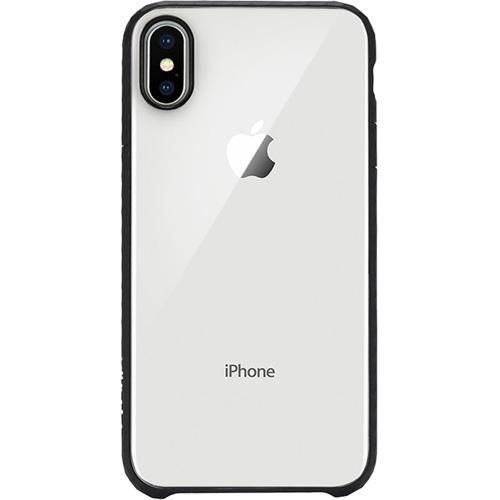 Чехол Incase Pop Case для iPhone X прозрачный/чёрныйЧехлы для iPhone X<br>Incase Pop Case — один из самых тонких, надёжных и привлекательных чехлов для вашего любимого iPhone X!<br><br>Цвет товара: Чёрный<br>Материал: Поликарбонат, термопластичный полиуретан