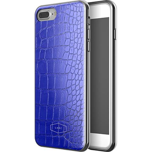Чехол LAB.C Crocodile Case для iPhone 7 Plus синийЧехлы для iPhone 7 Plus<br>С чехлом LAB.C Crocodile Case вы будете спокойны за сохранность своего Айфона и при этом сможете поразить окружающих премиум аксессуаром.<br><br>Цвет товара: Синий<br>Материал: Поликарбонат, полиуретан