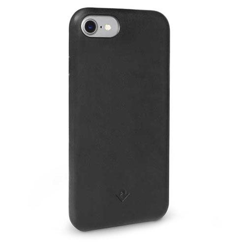Чехол Twelve South Relaxed для iPhone 7 чёрныйЧехлы для iPhone 7/7 Plus<br>Чехол Twelve South Relaxed не только защитит смартфон от механических повреждений, но и придаст ему изысканный внешний вид.<br><br>Цвет товара: Чёрный<br>Материал: Натуральная кожа, поликарбонат