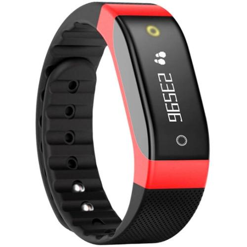 Фитнес-браслет SMA Coach красныйБраслеты, кардиодатчики<br>SMA Coach – это фитнес-трекер со встроенным датчиком сердечного ритма и функциями смарт-часов.<br><br>Цвет товара: Красный<br>Материал: Пластик, силикон