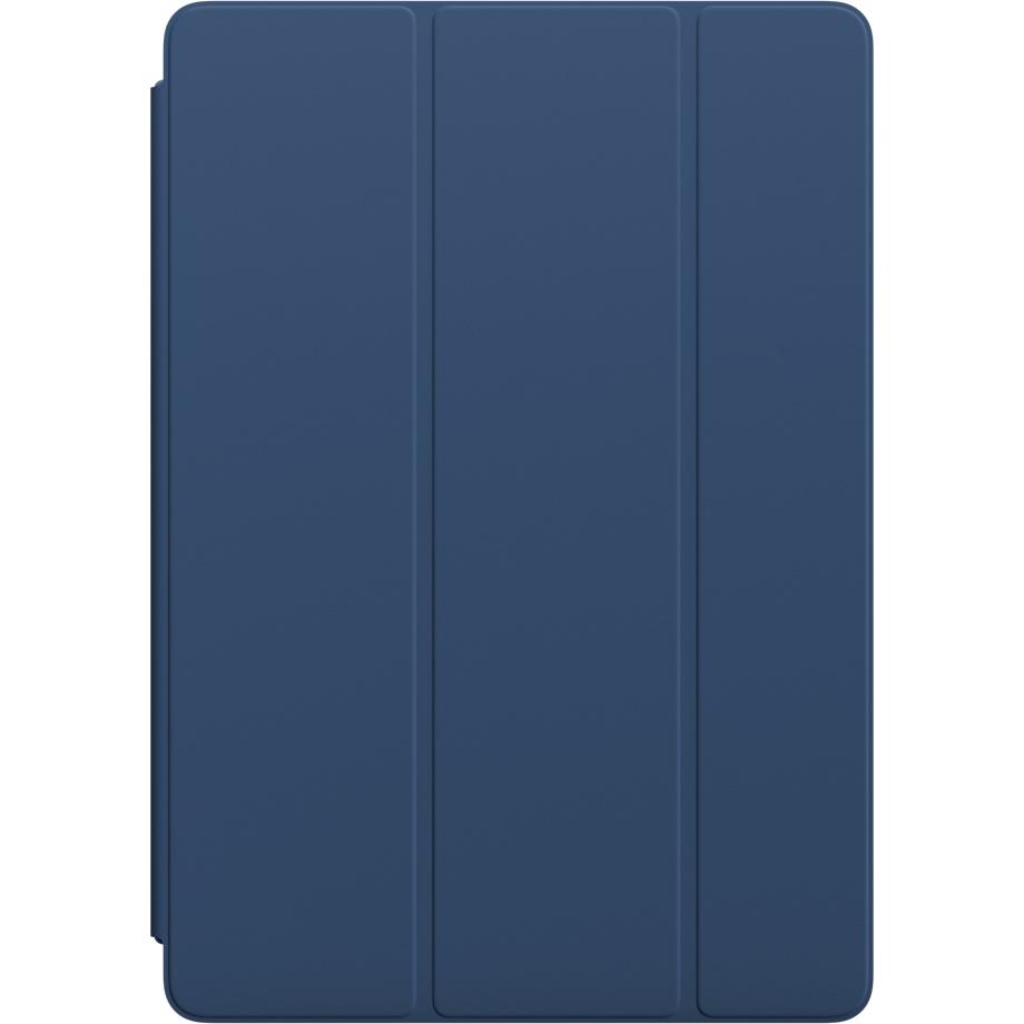 Чехол Apple Smart Cover для iPad Pro 10.5 (Blue Cobalt) синийЧехлы для iPad Pro 10.5<br>Элегантная обложка Smart Cover из высококачественной полиуретановой кожи защищает дисплей iPad Pro.<br><br>Цвет товара: Синий<br>Материал: Полиуретан