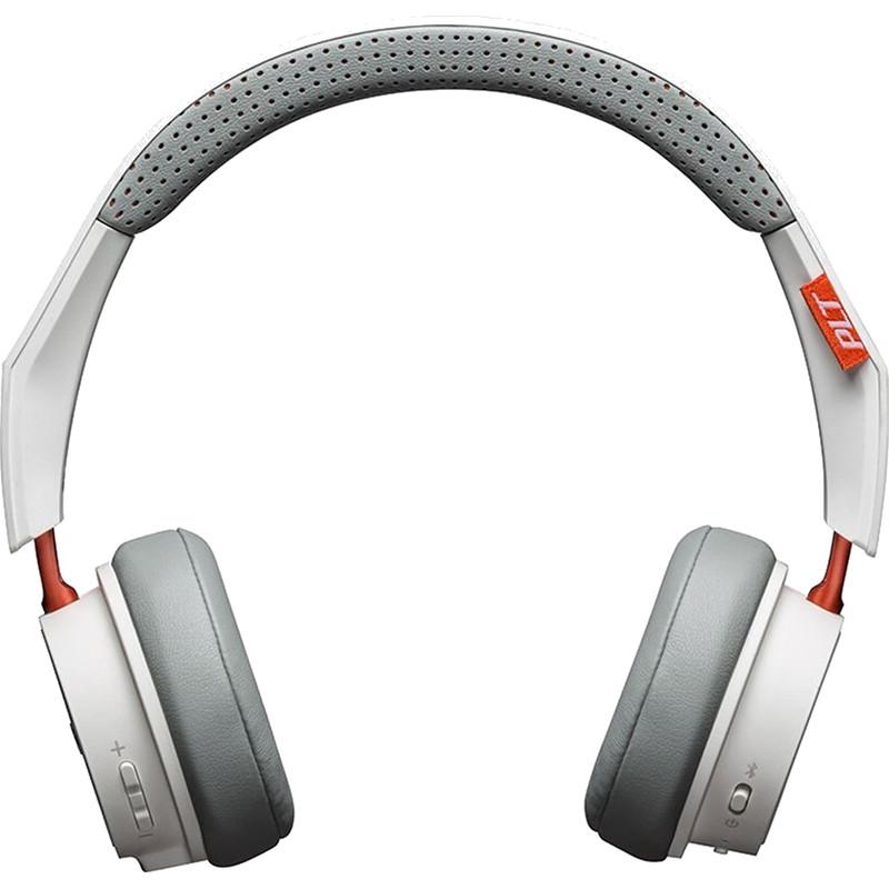 Наушники Plantronics BackBeat 500 белыеНакладные наушники<br>Ощутите истинное звучание музыки с наушниками Plantronics BackBeat 500.<br><br>Цвет товара: Белый<br>Материал: Пластик, полиуретан, поролон