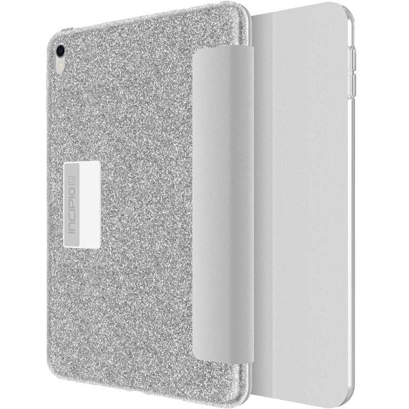 Чехол Incipio Design Series Folio для iPad Pro 10.5 (Silver Sparkler)Чехлы для iPad Pro 10.5<br>Чехол Incipio Design Series Folio обеспечивает планшету непревзойдённую степень защиты и без труда убережёт его от негативных внешних воздействий.<br><br>Цвет: Серый<br>Материал: Полиуретан, поликарбонат