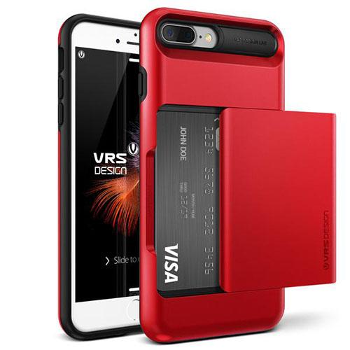 Чехол Verus Damda Glide для iPhone 7 Plus (Айфон 7 Плюс) красный (VRIP7P-DGLRD)Чехлы для iPhone 7 Plus<br>Чехол Verus для iPhone 7 Plus Damda Glide, красное яблоко (904647)<br><br>Цвет товара: Красный<br>Материал: Поликарбонат, полиуретан