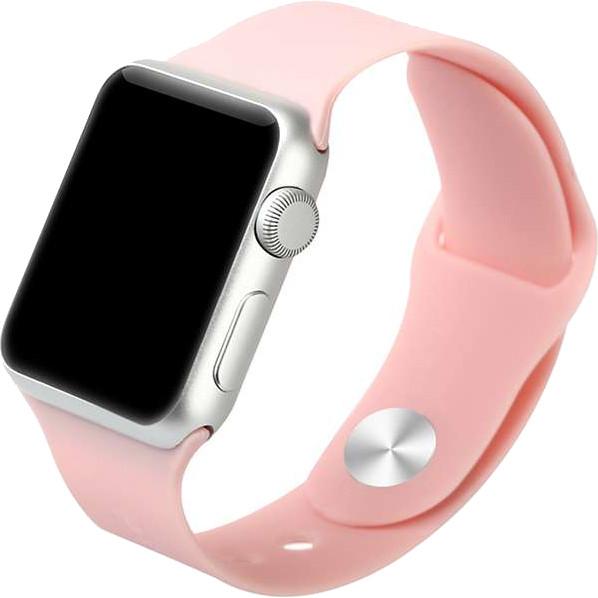 Спортивный ремешок Baseus Fresh Color для Apple Watch 38 мм розовыйРемешки для Apple Watch<br>Для хорошего настроения и превосходных результатов!<br><br>Цвет товара: Розовый<br>Материал: Термопластичный полиуретан