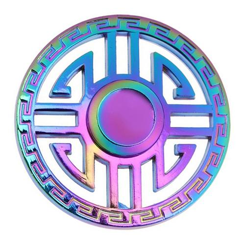 Спиннер Fidget Glory Rainbow Series Руна SP4564Игрушки-антистресс<br>Благодаря покрытию «хамелеон» спиннер Fidget Glory захватывает внимание с первой секунды!<br><br>Цвет товара: Разноцветный<br>Материал: Металл