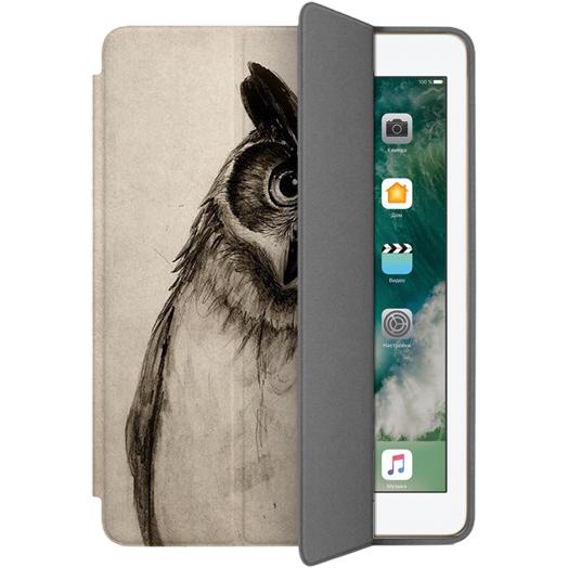 Чехол Muse Smart Case для iPad 9.7 (2017/2018) Сова 2Чехлы для iPad 9.7<br>Чехлы Muse — это индивидуальность, насыщенность красок, ультрасовременные принты и надёжность.<br><br>Цвет: Коричневый<br>Материал: Поликарбонат, полиуретановая кожа