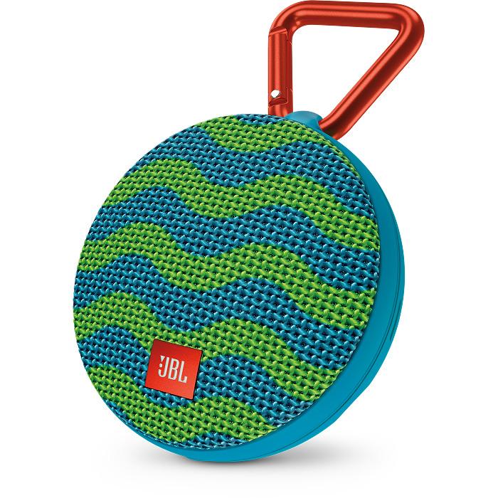 Портативная акустическая система JBL Clip 2 Special Edition SplashКолонки и акустика<br>Ультрамощный портативный динамик JBL CLIP 2 с впечатляющими характеристиками.<br><br>Цвет товара: Разноцветный<br>Материал: Пластик, металл, текстиль