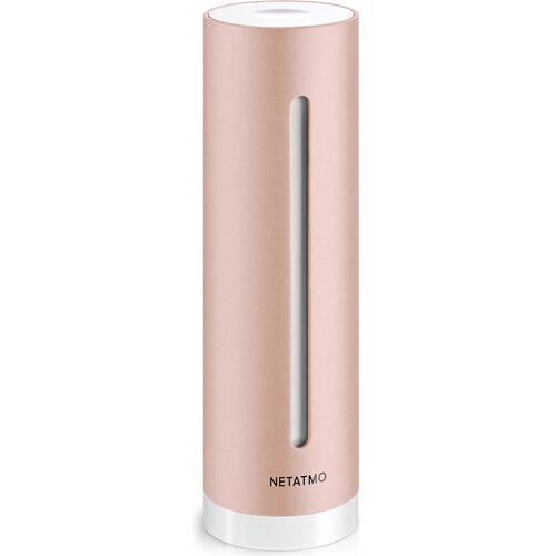 Домашняя метеостанция Netatmo Healthy Home CoachКлиматическая техника для дома<br>Netatmo healthy home coach<br><br>Цвет товара: Розовое золото<br>Материал: Алюминий