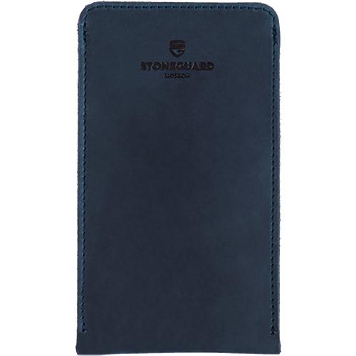Чехол кожаный Stoneguard для iPhone 6/6s/7 синий Ocean (512)Чехлы для iPhone 7<br>Кожаный чехол от Stoneguard — выбор тех, кто желает всегда идти в ногу со временем!<br><br>Цвет товара: Синий<br>Материал: Натуральная кожа, войлок