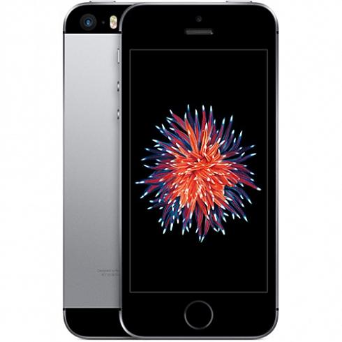 Apple iPhone SE - 32 Гб серый космосApple iPhone 5s/SE<br>Новинка весны 2016 года от Apple — iPhone SE — объединил в себе уже знакомые новейшие технологии и самый полюбившийся пользователям дизайн.<br><br>Цвет товара: Серый космос<br>Материал: Металл<br>Модификация: 32 Гб