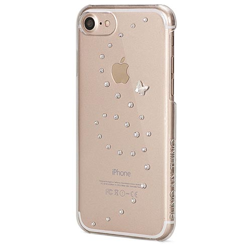 Чехол Bling My Thing Papillon для iPhone 7 (Айфон 7) Pure Brilliance прозрачный