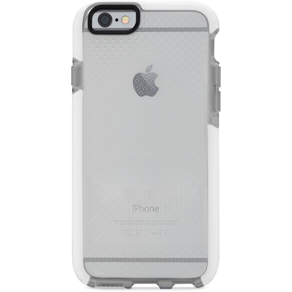 Чехол Tech21 Evo Check Case для iPhone 6/6s прозрачный/белыйЧехлы для iPhone 6/6s<br>Tech21 Evo Check Case не боится никаких повреждений!<br><br>Цвет товара: Белый<br>Материал: FlexShock