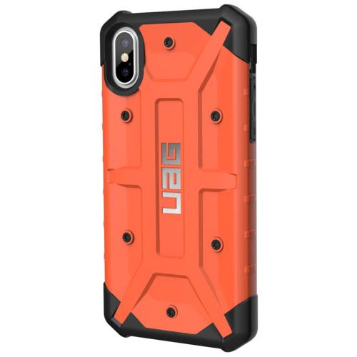 Чехол UAG Pathfinder Series Case для iPhone X оранжевыйЧехлы для iPhone X<br>UAG Pathfinder Series Case выдержит практически любое испытание!<br><br>Цвет товара: Оранжевый<br>Материал: Поликарбонат, термопластичный полиуретан