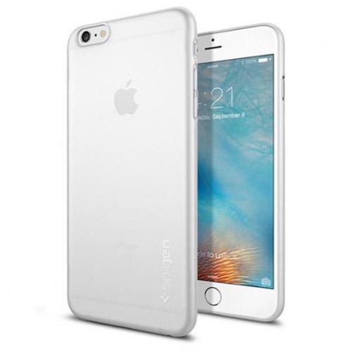 Чехол Spigen AirSkin для iPhone 6s Plus (SGP11641)Чехлы для iPhone 6s PLUS<br>Spigen AirSkin — один из самых тонких, надёжных и минималистичных чехлов для iPhone 6s Plus.<br><br>Цвет товара: Прозрачный<br>Материал: Полипропилен