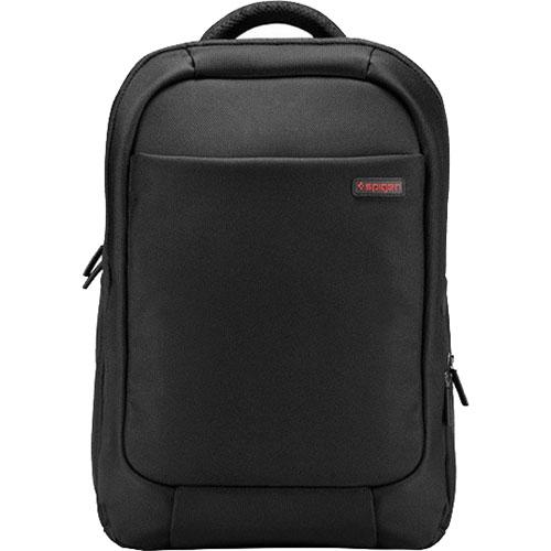 Рюкзак Spigen New Coated 2 Plus для MacBook 15 чёрный (000BG22249)Рюкзаки<br>Spigen New Coated 2 Plus для MacBook 15 — это рюкзак для хранения и переноски вашего ноутбука, мобильных устройств и необходимых аксессуаров.<br><br>Цвет товара: Чёрный<br>Материал: Текстиль