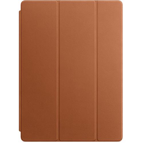 Чехол Apple Leather Smart Cover для iPad Pro 12.9 коричневый (Saddle Brown)Чехлы для iPad Pro 12.9<br>Надежный и изысканный чехол Apple Leather Smart Cover — это ещё и удобная подставка с двумя углами обзора.<br><br>Цвет товара: Коричневый<br>Материал: Натуральная кожа