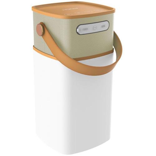 Акустическая система Rock Mulite Bluetooth Speaker коричневая (Coffee)Колонки и акустика<br>Акустика ROCK Mulite Bluetooth Speaker черно-белый<br><br>Цвет: Коричневый<br>Материал: Пластик