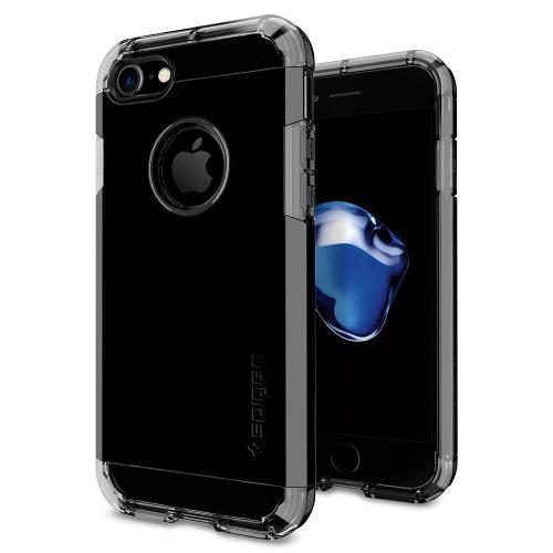 Чехол Spigen Tough Armor для iPhone 7 (Айфон 7) чёрная смола (SGP-042CS20843)Чехлы для iPhone 7<br>Обеспокоены безопасностью вашего iPhone 7? С бестселлером от Spigen — чехлом Tough Armor — вам больше никогда не придётся об этом волноваться!<br><br>Цвет товара: Чёрный<br>Материал: Поликарбонат, полиуретан