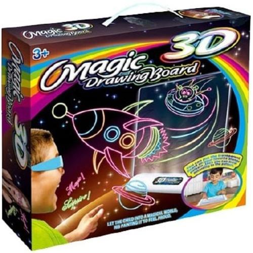 3D-доска для рисования Magic Drawing Board 3D (КОСМОС)Планшеты для рисования<br>Magic Drawing Board — это не просто доска для рисования, а настоящий творческий инструмент для полета фантазии и воображения малыша, который увлече...<br><br>Цвет товара: Разноцветный<br>Материал: Металл, пластик, бумага, картон