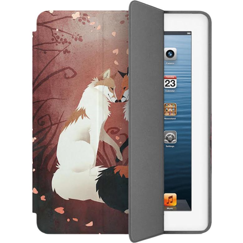 Чехол Muse Smart Case для iPad 2/3/4 Две ЛисыЧехлы для iPad 1/2/3/4<br>Чехлы Muse — это индивидуальность, насыщенность красок, ультрасовременные принты и надёжность.<br><br>Цвет: Красный<br>Материал: Эко-кожа, поликарбонат