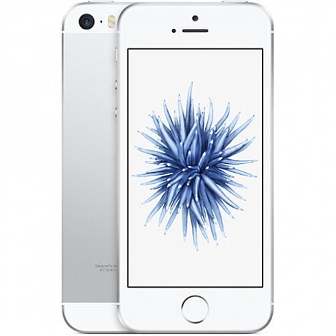 Apple iPhone SE - 128 Гб серебристыйApple iPhone 5s/SE<br>Новинка весны 2016 года от Apple — iPhone SE — объединил в себе уже знакомые новейшие технологии и самый полюбившийся пользователям дизайн.<br><br>Цвет товара: Серебристый<br>Материал: Металл<br>Модификация: 128 Гб