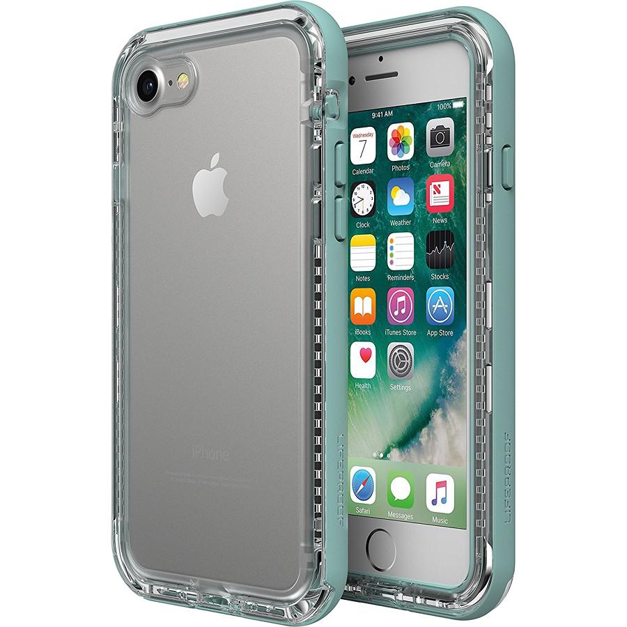 Чехол LifeProof NEXT для iPhone 7/8 бирюзовый SeasideЧехлы для iPhone 7<br>Ещё никогда защита не сочеталась с высокой функциональностью.<br><br>Цвет: Бирюзовый<br>Материал: Пластик, силикон