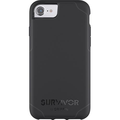 Чехол Griffin Survivor Journey для iPhone 7/ iPhone 8 чёрный/серыйЧехлы для iPhone 7<br>Чехол Griffin Survivor Journey для iPhone 7/6/6s - черный/серый<br><br>Цвет товара: Чёрный<br>Материал: Пластик