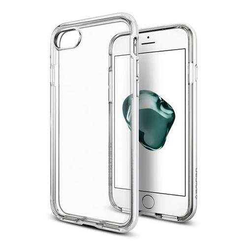 Чехол Spigen Neo Hybrid Crystal для iPhone 7 (Айфон 7) ультрабелый (SGP-042CS21040)Чехлы для iPhone 7<br>Чехол Spigen Neo Hybrid Crystal для iPhone 7 (Айфон 7) ультра-белый (SGP-042CS21040)<br><br>Цвет товара: Белый<br>Материал: Поликарбонат, полиуретан