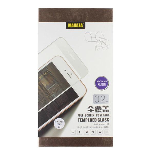 Защитное стекло Mahaza 3D Glass для iPhone 7 Plus белоеСтекла/Пленки на смартфоны<br>Mahaza 3D Glass надежно оберегает экран смартфона.<br><br>Цвет товара: Белый<br>Материал: Стекло