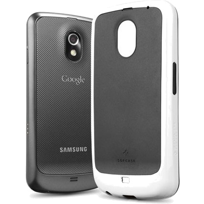 Чехол Spigen Neo Hybrid Series для Samsung Galaxy Nexus Белый (SGP08649) от iCases