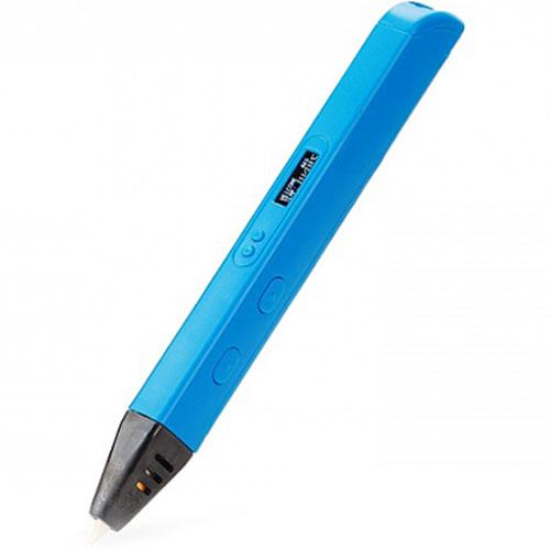3D Ручка MyRiwell RP800A с OLED дисплеем голубая3Д ручки для рисования<br>3D ручка от компании MyRiwell — это оригинальный подарок, который будет интересен и взрослым, и детям!<br><br>Цвет товара: Голубой<br>Материал: Пластик, керамика