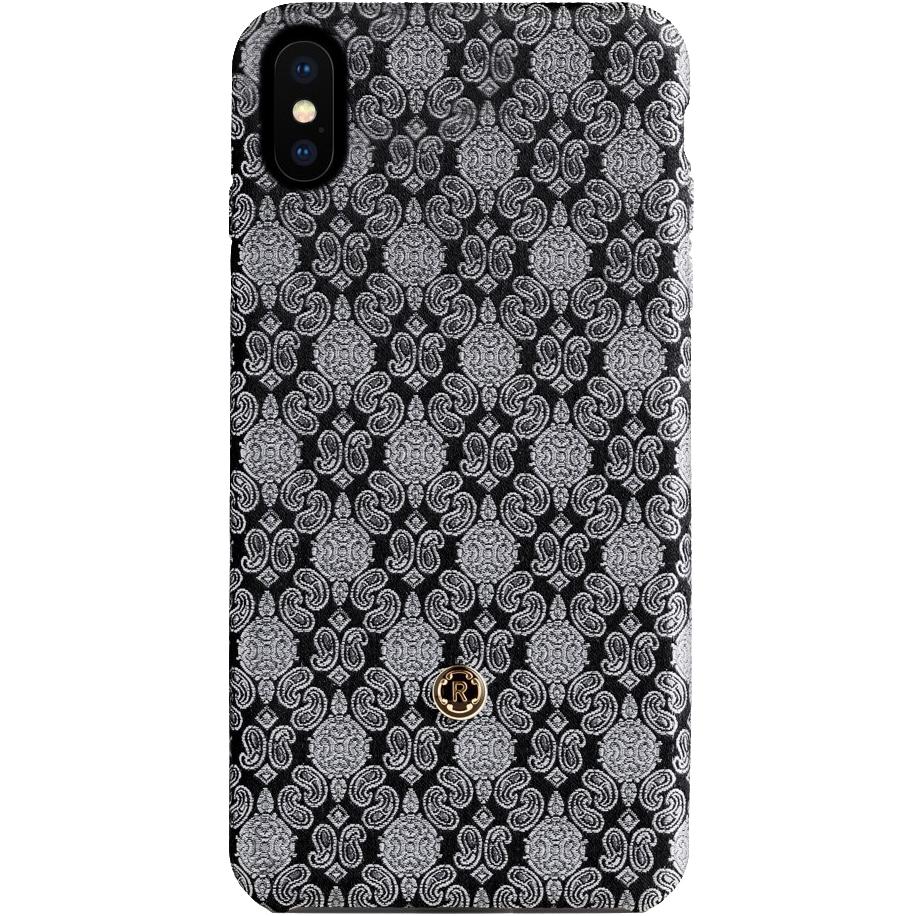Чехол Revested Silk Collection для iPhone X Venetian WhiteЧехлы для iPhone X<br>Премиум-чехлы от лучших мастеров из Италии!<br><br>Цвет товара: Белый<br>Материал: Шёлк, поликарбонат