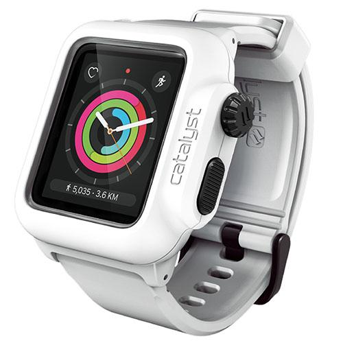 Чехол Catalyst Waterproof для Apple Watch Series 2 42 мм белыйЧехлы Apple Watch<br>Catalyst Waterproof для Apple Watch вобрал в себя лучшие современные материалы!<br><br>Цвет товара: Белый<br>Материал: Пластик, силикон